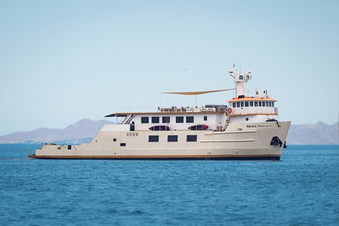 Pacific Provider flipped 1978 BLOUNT MARINE Expedition Vessel Expedition Yacht 2587350