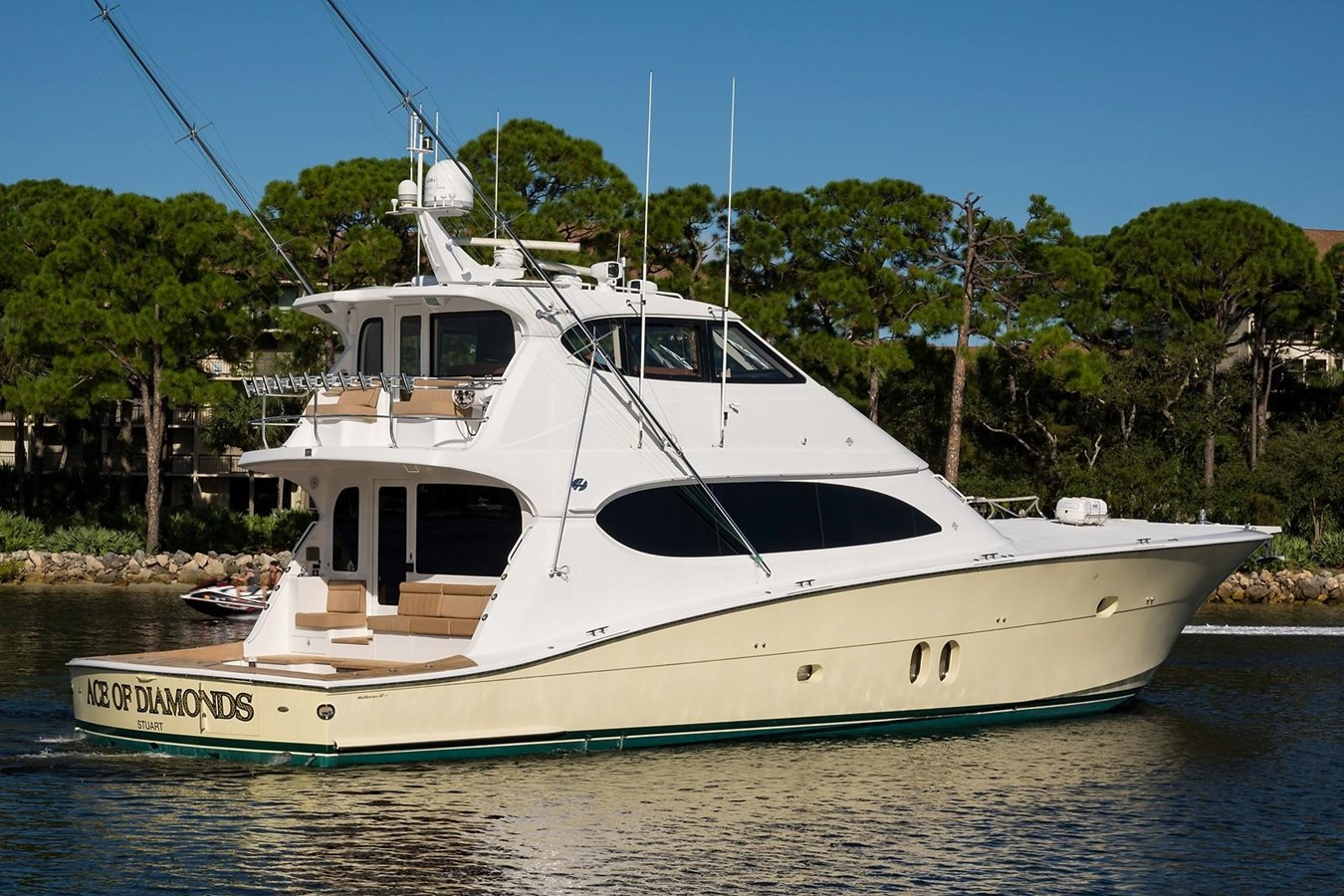 2010 HATTERAS 77 Convertible Sport Fisherman 2403986