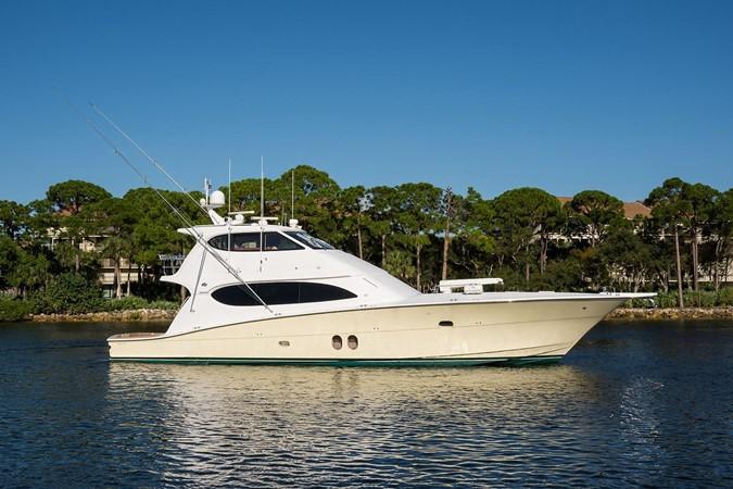 2010 HATTERAS 77 Convertible Sport Fisherman 2404052