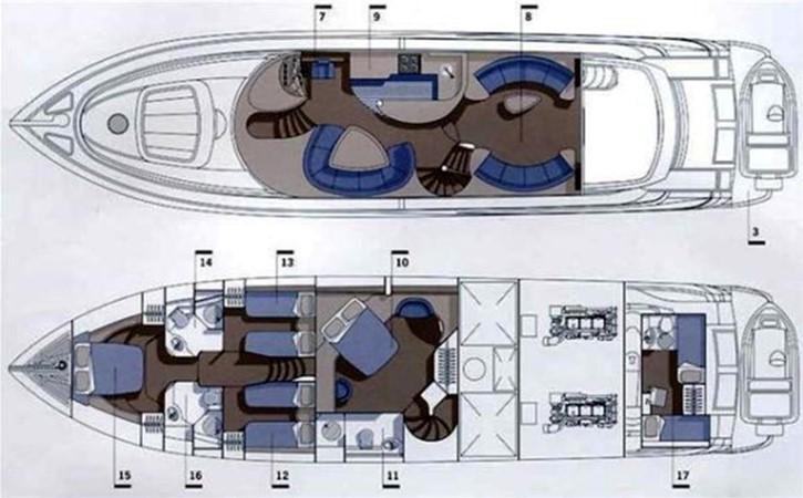 2001 SUNSEEKER Manhattan  Motor Yacht 2405718