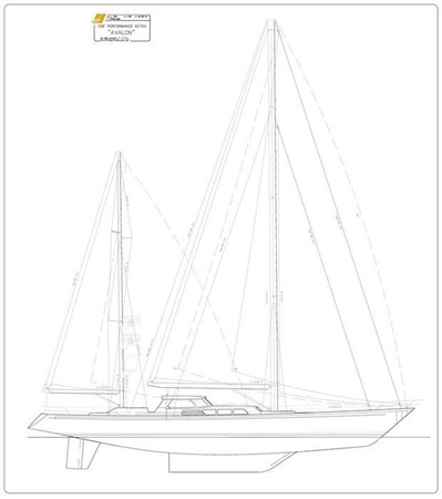 1987 SOUTHERN PACIFIC YACHTS  Cruising Ketch 2418925