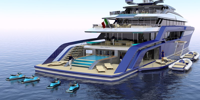 2023 CUSTOM BUILT BEYOND 72 Motor Yacht 2419964