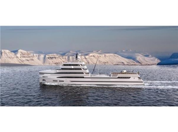 85m Spadolini Helipad Supply Vessel 2020 ROSETTI SUPERYACHTS Mega