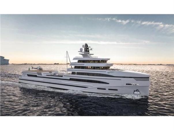 ROSETTI SUPERYACHTS 85m Spadolini Helipad Expedition Yacht Yacht for Sale