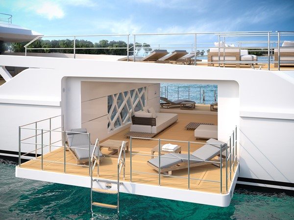 ROSETTI SUPERYACHTS 52m PHI Design Explorer Yacht Yacht for Sale