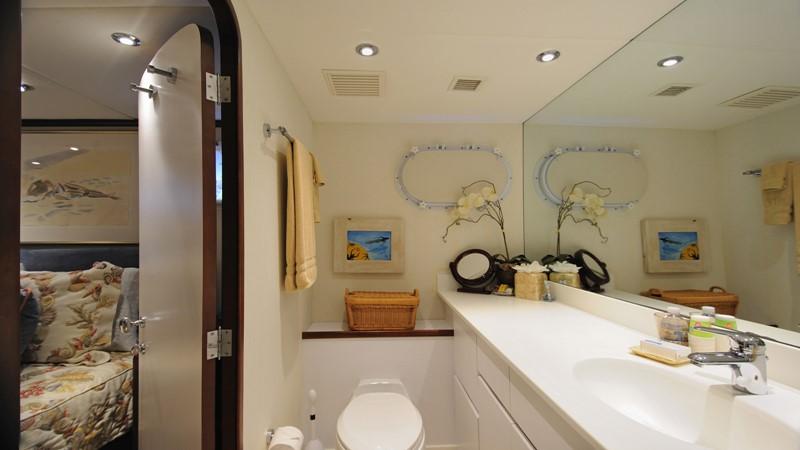 Guest Bath 2001 BROWARD Raised Pilothouse Motor Yacht 2428799