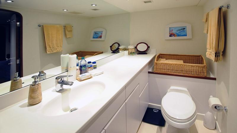 Guest Bath 2001 BROWARD Raised Pilothouse Motor Yacht 2428800
