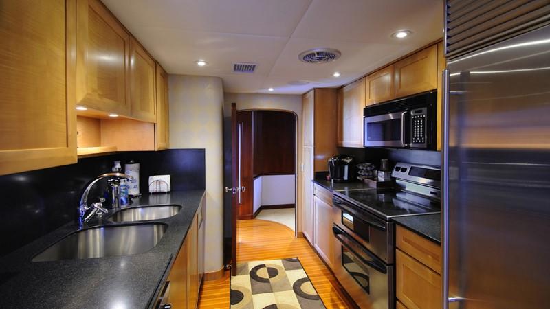 Galley 2001 BROWARD Raised Pilothouse Motor Yacht 2428804