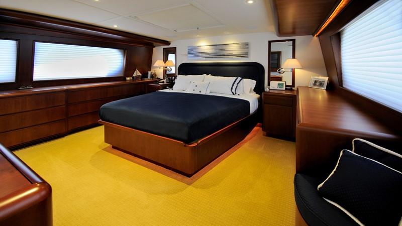 On-deck Master Stateroom 2001 BROWARD Raised Pilothouse Motor Yacht 2428807