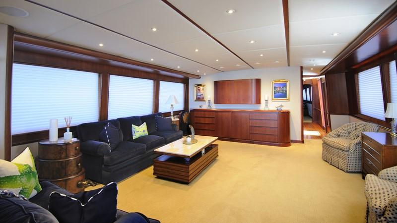 Main Salon 2001 BROWARD Raised Pilothouse Motor Yacht 2428808