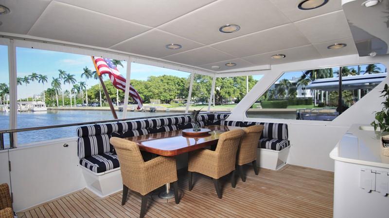 Aft Deck with A/C 2001 BROWARD Raised Pilothouse Motor Yacht 2428809