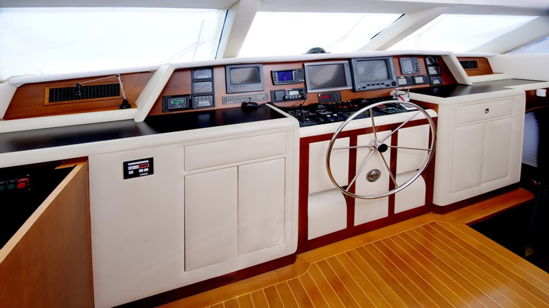Wheelhouse 2001 BROWARD Raised Pilothouse Motor Yacht 2428810