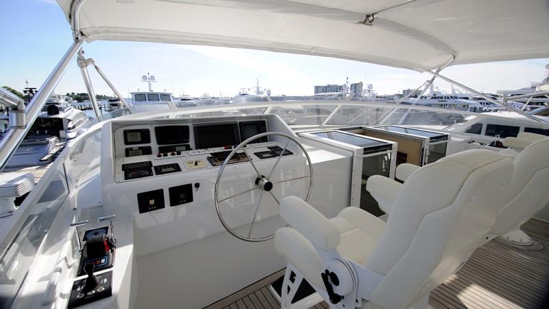 Flybridge Helm 2001 BROWARD Raised Pilothouse Motor Yacht 2428811