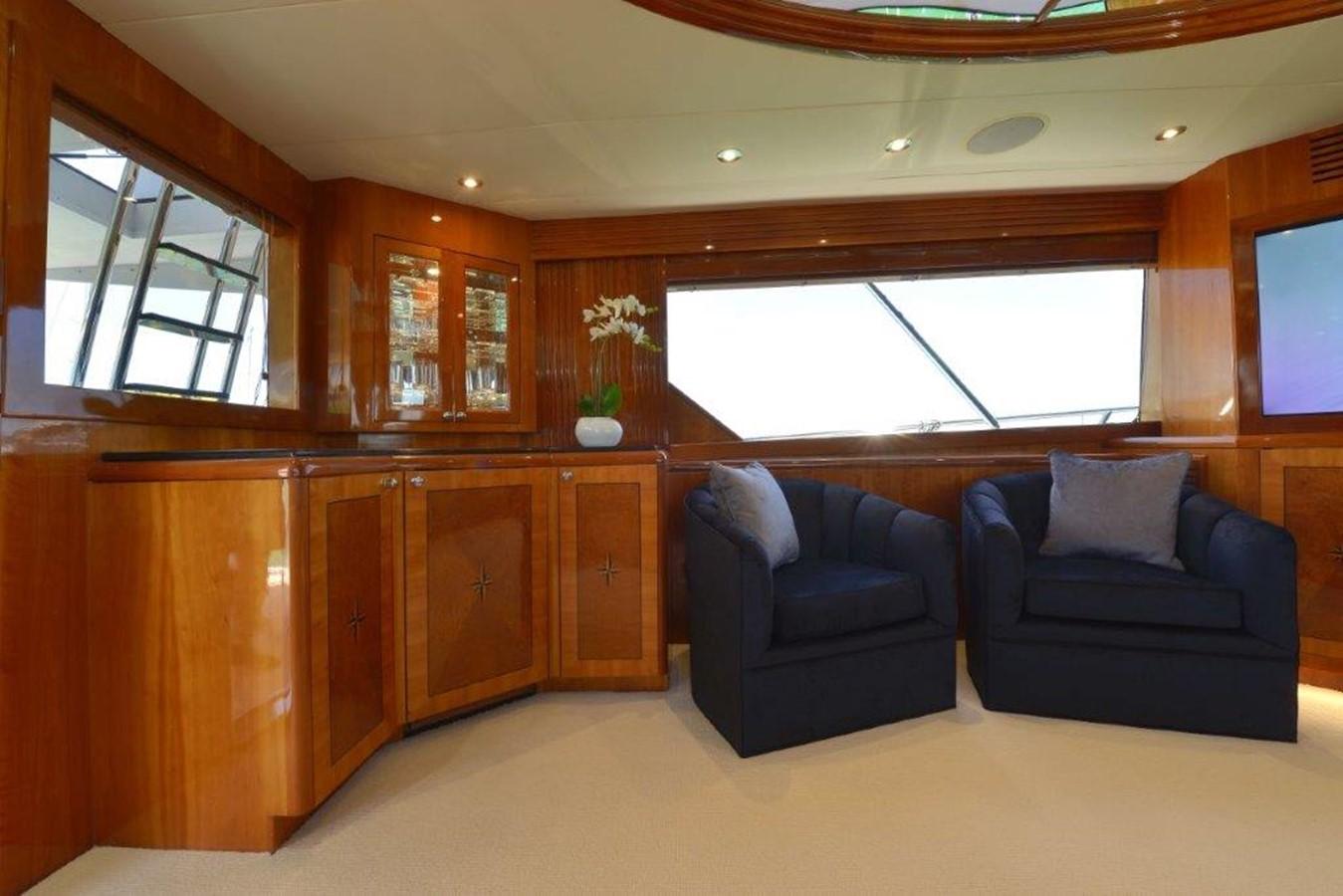 Salon 2003 HATTERAS Convertible Enclosed Bridge Sport Fisherman 2434615