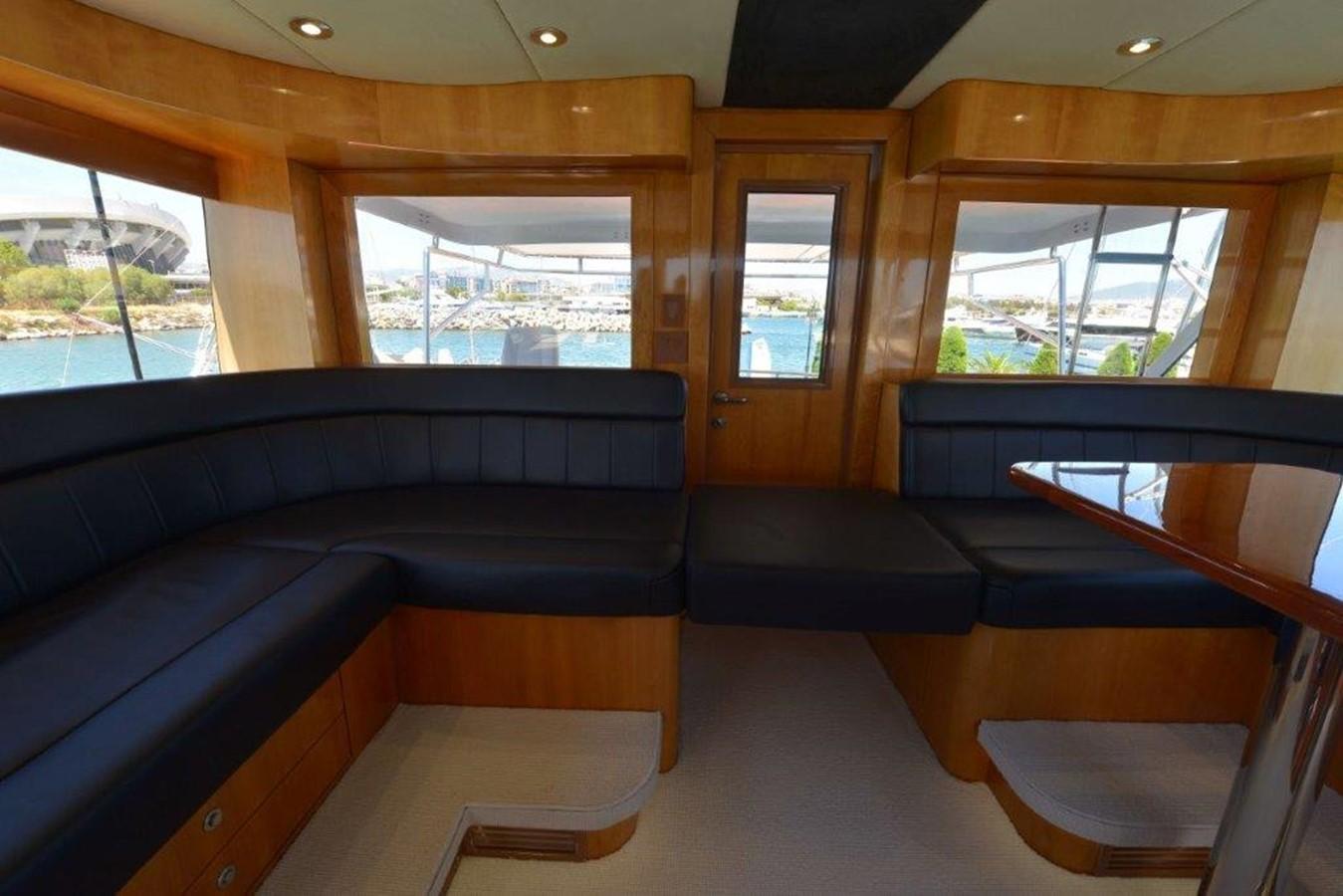 Enclosed Bridge Seating  2003 HATTERAS Convertible Enclosed Bridge Sport Fisherman 2435387