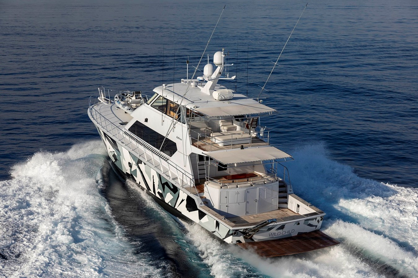 2003 HATTERAS Convertible Enclosed Bridge Sport Fisherman 2470383