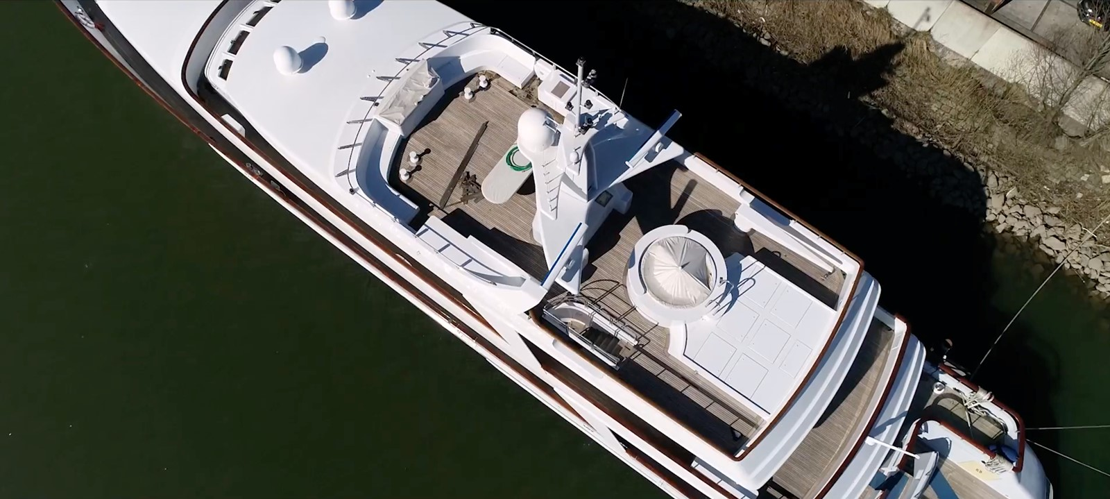 Aerial Upper Deck - 162 OCEANCO For Sale
