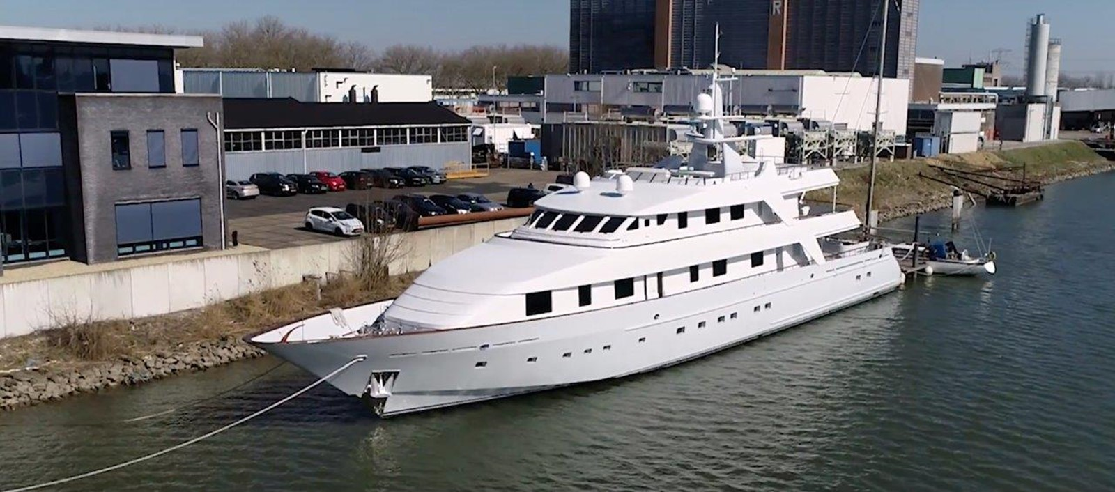 Port Bow Profile - 162 OCEANCO For Sale