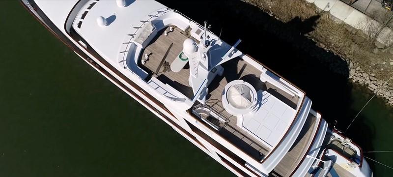 Aerial Upper Deck 1994 OCEANCO  Motor Yacht 2424983