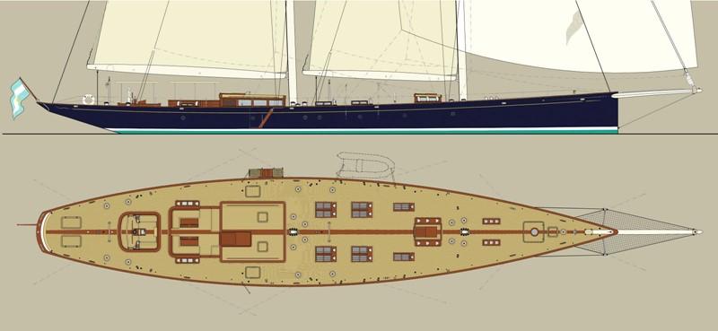 G.A. deck 2014 Astilleros Buquebus  Schooner 2429330