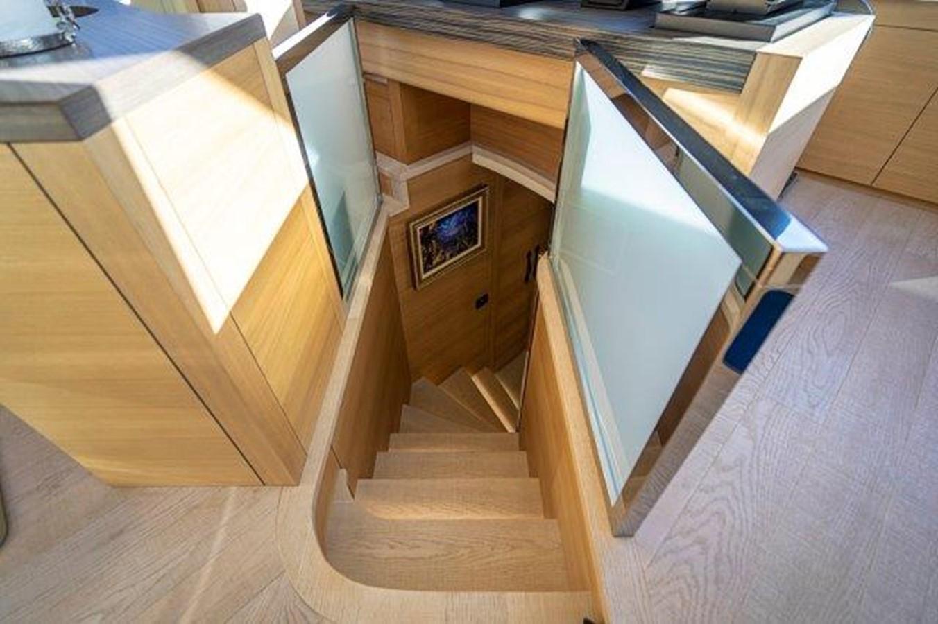 Stairs to Companionway 2014 PERSHING  Motor Yacht 2431288