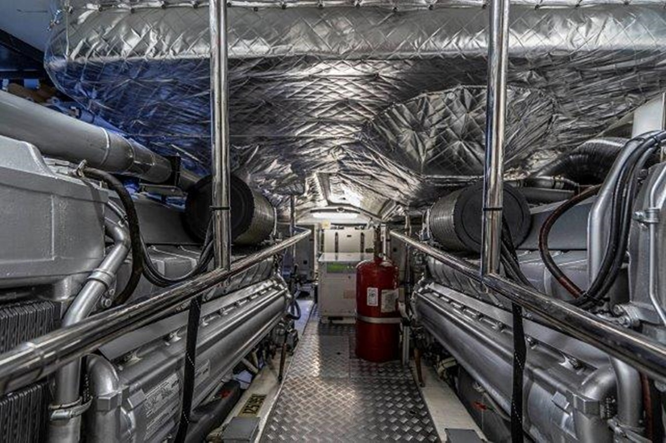 Engine Room 2014 PERSHING  Motor Yacht 2431309