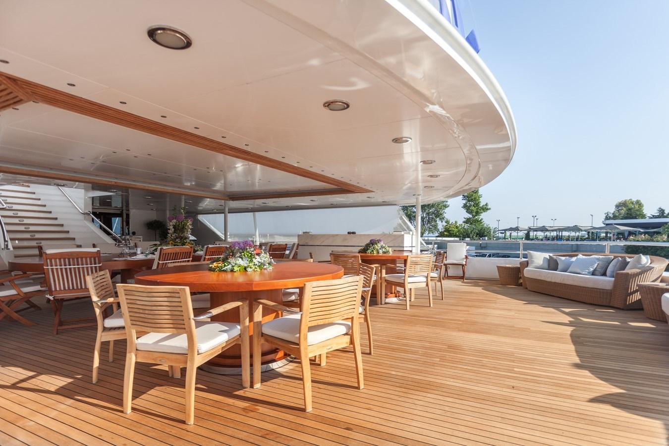 019 O'Mega_271-  aft dining large_2240883 (1) 2004 MITSUBISHI  Mega Yacht 2919769