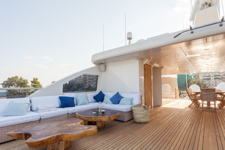 022  O'Mega_271- sun deck large_2240872 2004 MITSUBISHI  Mega Yacht 2919771