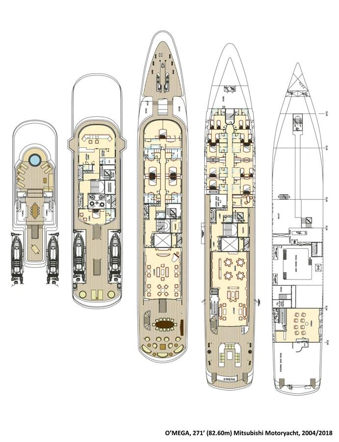 2004 MITSUBISHI  Mega Yacht 2937894