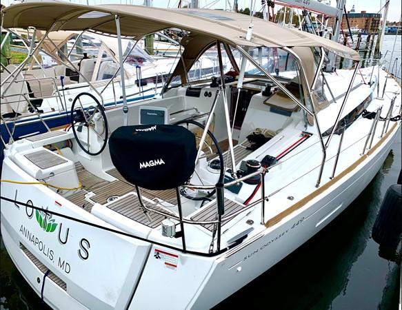 2017 JEANNEAU 449 Cruising Sailboat 2440455