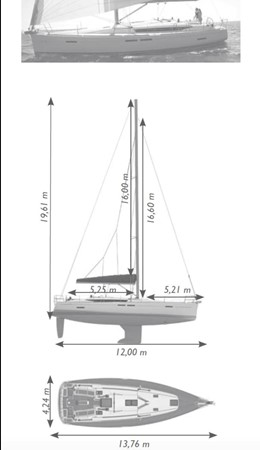 2017 JEANNEAU 449 Cruising Sailboat 2440508