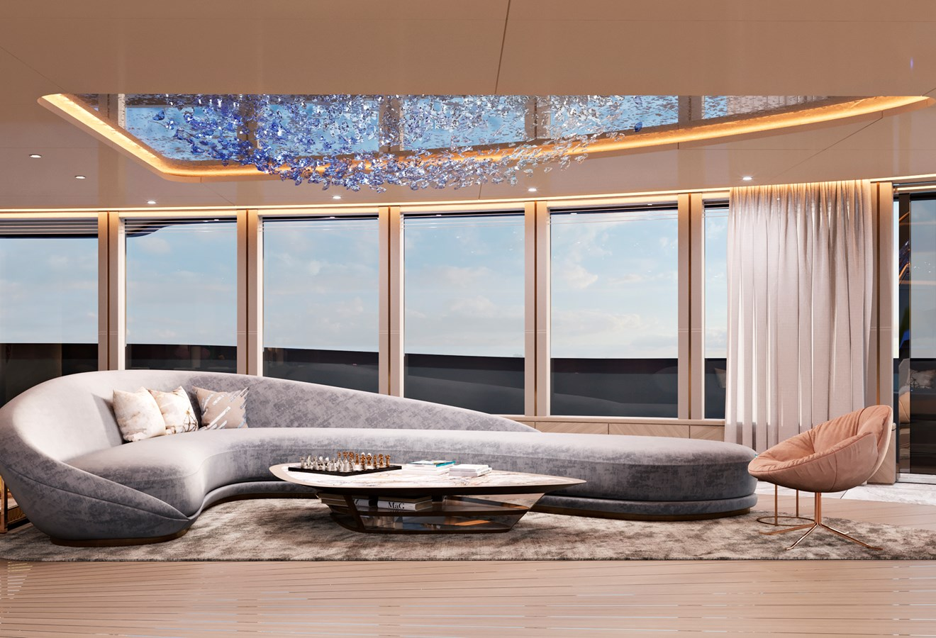 BEYOND 82M interiors- Fotiadis Design (6) 2023 CUSTOM BUILT BEYOND 82 Mega Yacht 2442975