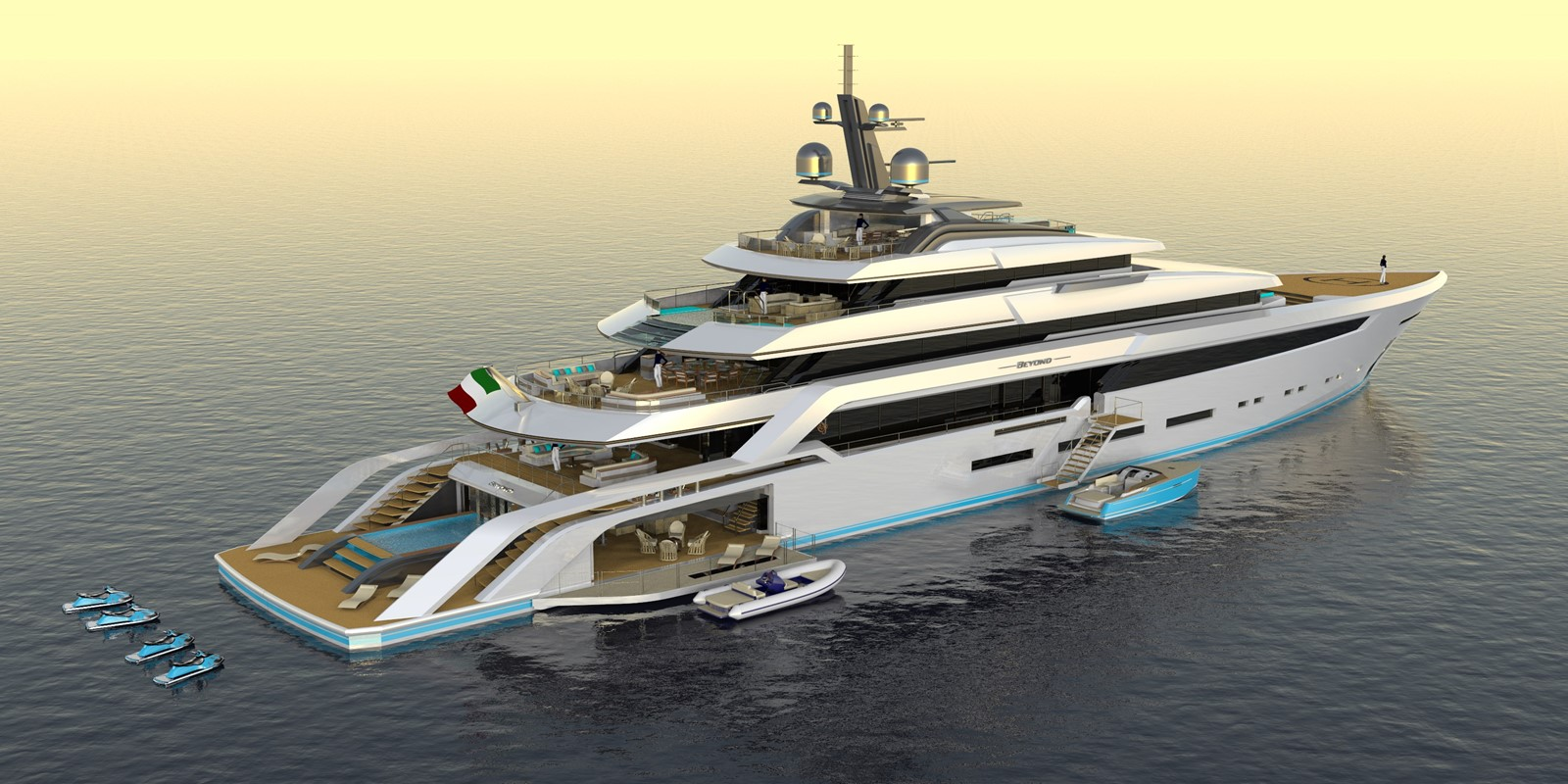 BEYOND 82M 2023 CUSTOM BUILT BEYOND 82 Mega Yacht 2454900