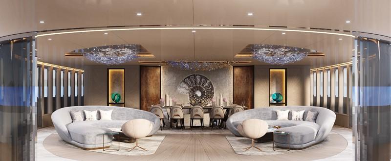 BEYOND 82M Interiors - Fotiadis Design 2023 CUSTOM BUILT BEYOND 82 Mega Yacht 2454892