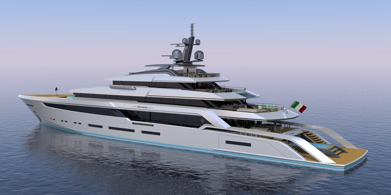BEYOND 82M 2023 CUSTOM BUILT BEYOND 82 Mega Yacht 2454896