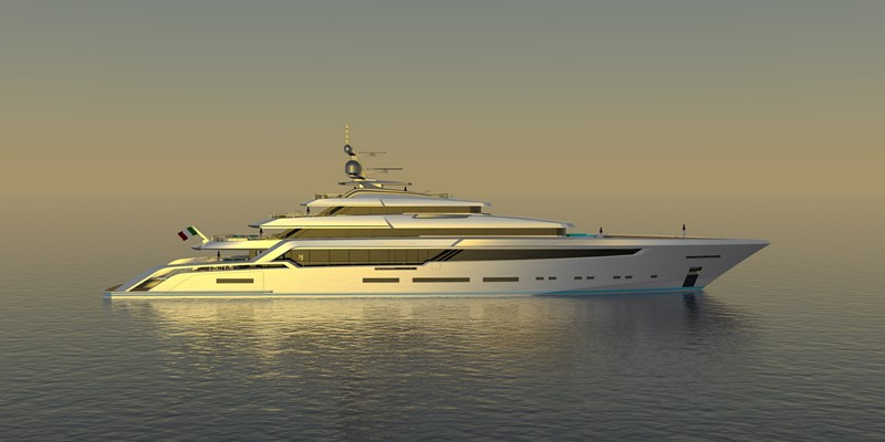 BEYOND 82M 2023 CUSTOM BUILT BEYOND 82 Mega Yacht 2454897