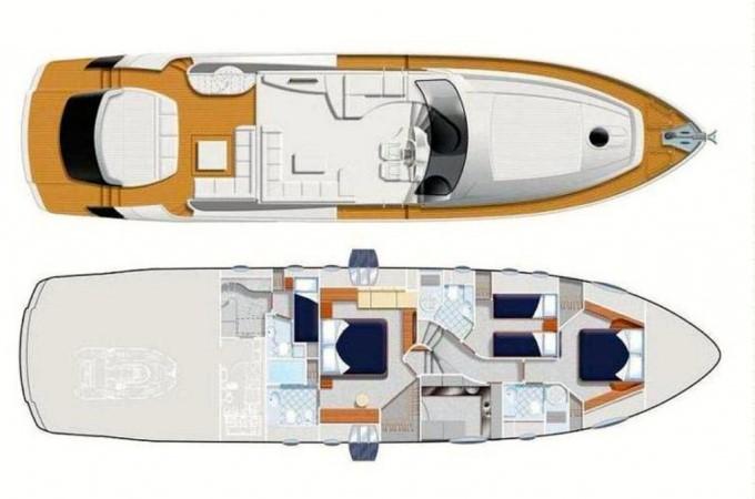 2009 PERSHING 2009 Cruiser 2516850