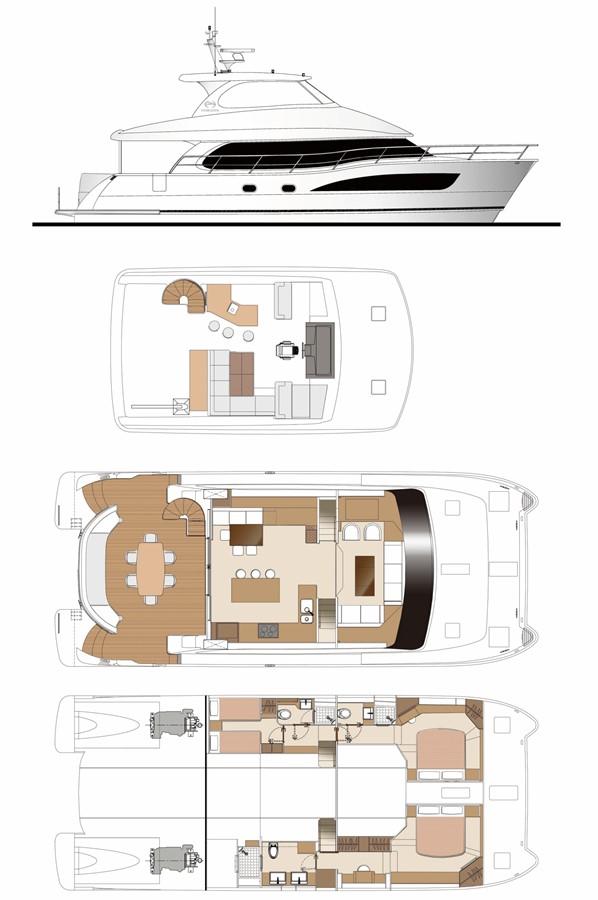 2021 HORIZON PC60 Catamaran 2451129