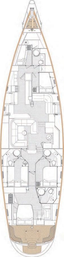 GA interior 2010 OYSTER YACHTS Oyster 82 Cruising Sailboat 2735956