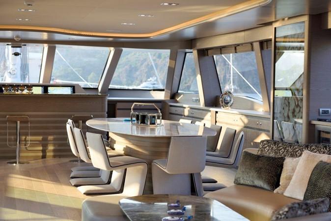 Dining  2019 ADA YACHT WORKS Twin Screw Flybridge Sailing Yacht Sloop 2624884