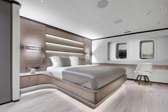 Master Stateroom 2019 ADA YACHT WORKS Twin Screw Flybridge Sailing Yacht Sloop 2624886