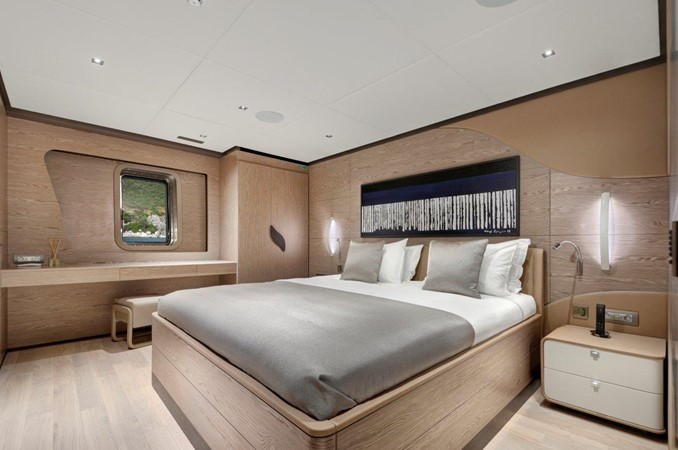 Guest Stateroom 2019 ADA YACHT WORKS Twin Screw Flybridge Sailing Yacht Sloop 2624895