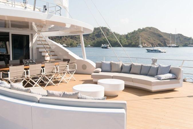 Main Deck Aft 2019 ADA YACHT WORKS Twin Screw Flybridge Sailing Yacht Sloop 2624902