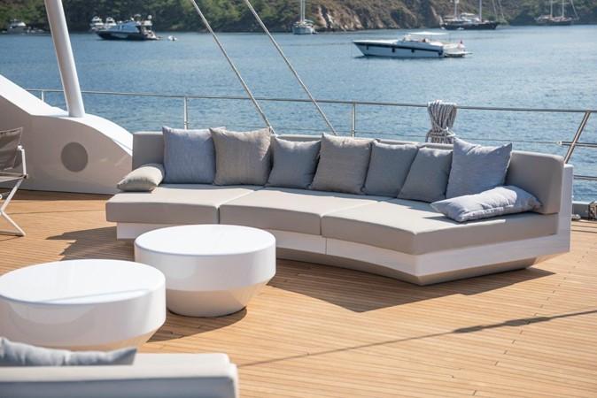 Main Deck Aft 2019 ADA YACHT WORKS Twin Screw Flybridge Sailing Yacht Sloop 2624904