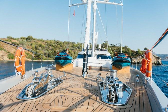 Forepeak 2019 ADA YACHT WORKS Twin Screw Flybridge Sailing Yacht Sloop 2624908