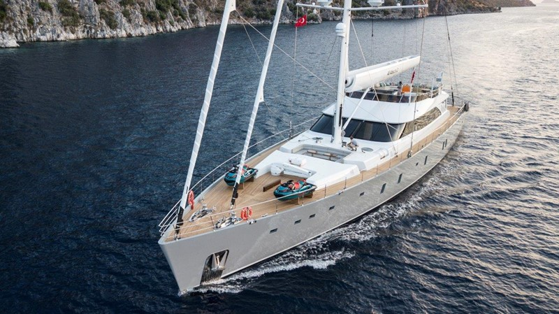 Underway 2019 ADA YACHT WORKS Twin Screw Flybridge Sailing Yacht Sloop 2624919