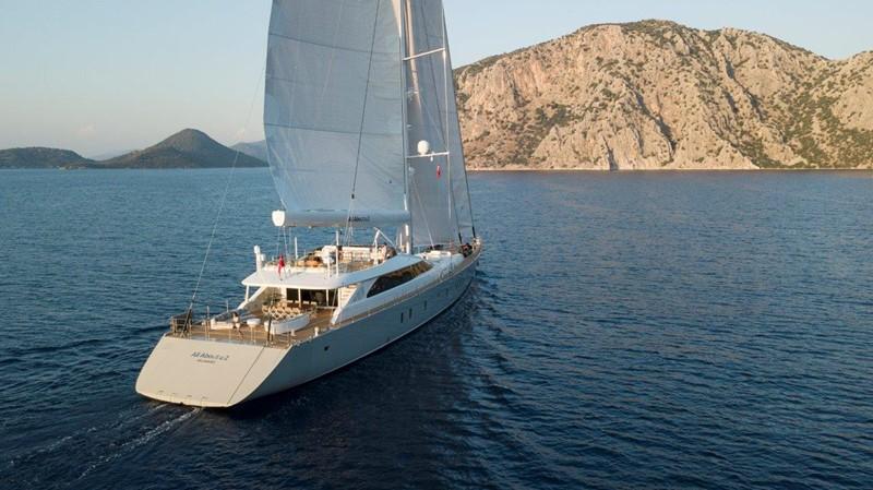 Under Sail 2019 ADA YACHT WORKS Twin Screw Flybridge Sailing Yacht Sloop 2624921