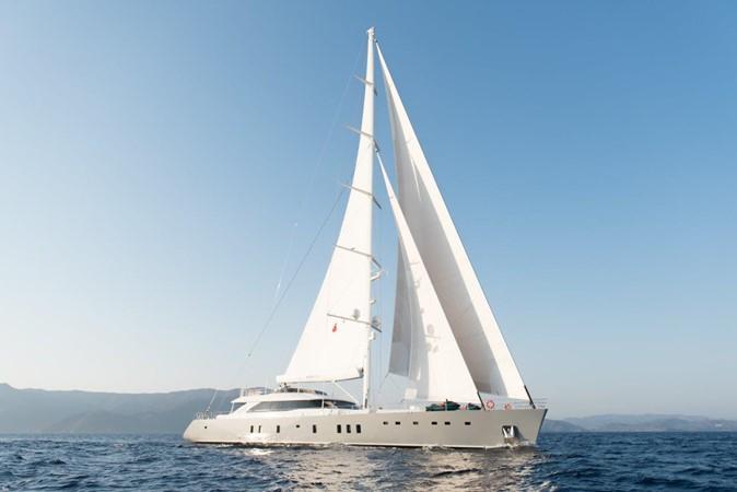 Under Sail 2019 ADA YACHT WORKS Twin Screw Flybridge Sailing Yacht Sloop 2624923
