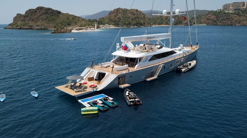 _DJI_0284 2019 ADA YACHT WORKS Twin Screw Flybridge Sailing Yacht Sloop 2741091