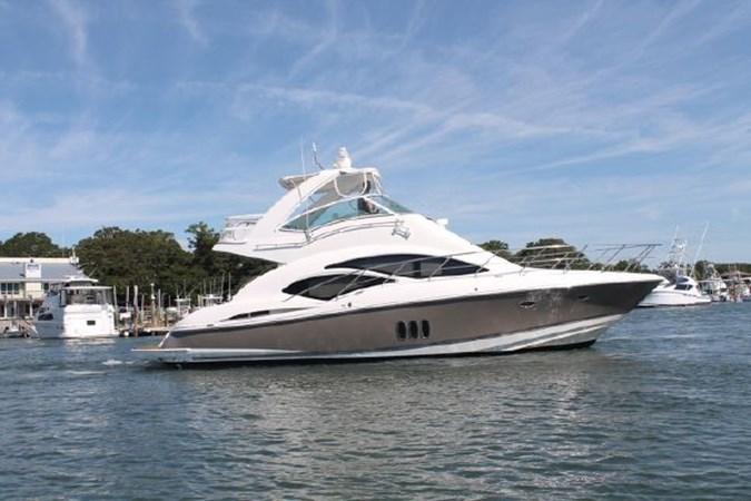 Port Profile 2007 Cruisers Yachts 447 Sport Sedan Cruiser 2446045